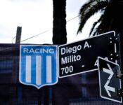 Diego Milito, Milito, Calle Milito, Racing
