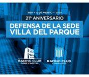 Sede Villa del Parque, Racing, remate