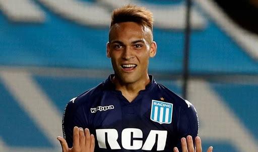 Lautaro Martínez, Racing, Selección Argentina