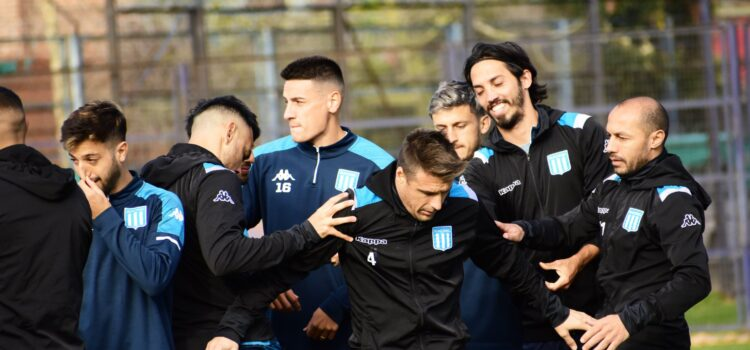 Último entrenamiento: por la gloria, Racing, Academia, Copa Liga Profesional, Copa De La Liga, Nery Domínguez, Colón de Santa Fe, Juan Antonio Pizzi